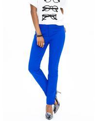 Banana Republic | Blue Sloan-fit Slim Ankle Pant | Lyst
