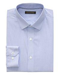 Banana Republic - Blue Camden Standard-fit Non-iron Stretch Stripe Shirt for Men - Lyst