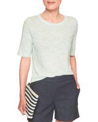 Banana Republic Factory - Multicolor Malibu Elbow-sleeve Crew Neck T Shirt - Lyst
