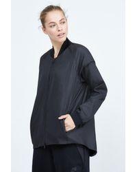 Nike   Black Woven Tech Jacket   Lyst
