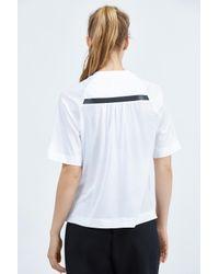 Nike - White Sportswear Bonded Top - Lyst