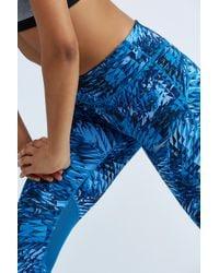 Nike - Blue Power Epic Lux Crop - Lyst