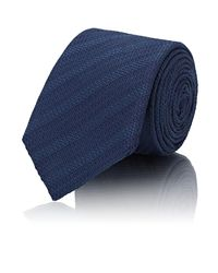 Barneys New York - Blue Textured-weave Silk Necktie for Men - Lyst