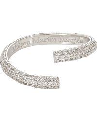 Maison Margiela - Metallic alliance Split Ring - Lyst
