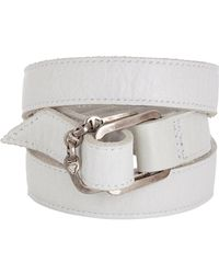 Hoorsenbuhs - Multicolor Leather Wrap Bracelet - Lyst