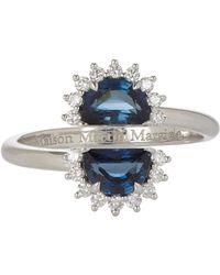 Maison Margiela - Multicolor Pompadour Split Ring - Lyst