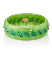 Mark Davis - Green Bakelite & Amethyst Bangle - Lyst