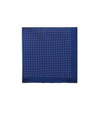 Bigi - Blue Polka Dot Silk Pocket Square - Lyst