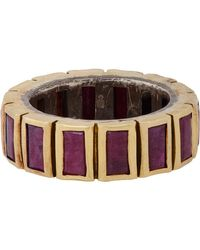Nak Armstrong | Multicolor Baguette Ring | Lyst