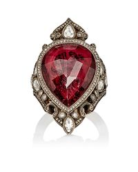 Sevan Biçakci - Red live For Love Ring - Lyst