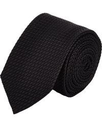 Drake's | Black Grenadine Neck Tie for Men | Lyst