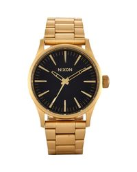 Nixon - Black Sentry 38 Ss Watch for Men - Lyst