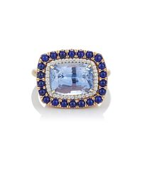 Irene Neuwirth - Blue Gemstone Ring - Lyst