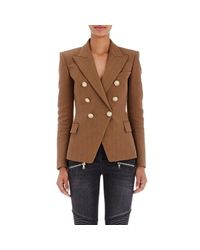 Balmain | Brown Double | Lyst