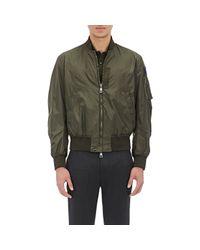 Moncler - Green Bomber Jacket for Men - Lyst