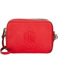 Lanvin - Red Small Camera Bag - Lyst