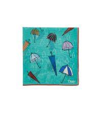 Drake's   Green Umbrella for Men   Lyst