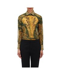 Valentino - Multicolor Voile Shirt - Lyst