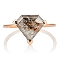 Grace Lee - Multicolor Rustic Diamond Ring Size 6 M - Lyst
