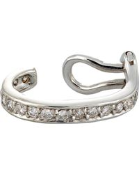 Ana Khouri | Metallic Women's Small Mina Ear Cuff | Lyst