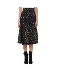 Philosophy Di Lorenzo Serafini - Multicolor Rosebud Pleated Skirt - Lyst