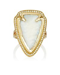 Pamela Love - Metallic Arrowhead Ring - Lyst