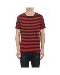R13 - Red Striped Jersey T for Men - Lyst