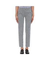 Harvey Faircloth - Multicolor Checked Twill Pants - Lyst