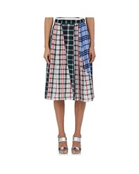 Rhié - Multicolor Plaid Skirt Size 2 - Lyst