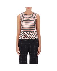 Ace & Jig | Red Anais Striped Cotton Top | Lyst