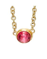 Judy Geib | Pink Spinel Cabochon Necklace | Lyst