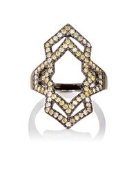 Sara Weinstock - White Negative Space Ring - Lyst