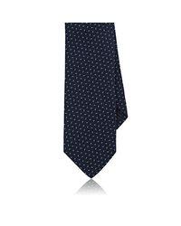 Uman - Blue Dotted Silk Necktie for Men - Lyst