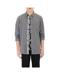 Rag & Bone - Gray Flannel Standard Issue Shirt for Men - Lyst