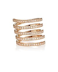 Roberto Marroni - Multicolor Diamond Spiral Ring - Lyst