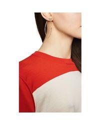 Nak Armstrong - Blue Shirred Hoop Earrings - Lyst