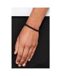 Barneys New York - Black Onyx Beaded Bracelet for Men - Lyst
