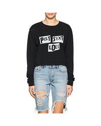 Ksubi - Black Graphic Distressed Cotton T-shirt - Lyst