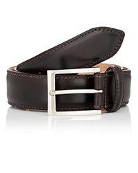 Harris - Brown Burnished Leather Belt for Men - Lyst