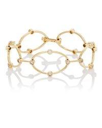 Ileana Makri - Metallic Champagne Diamond Bracelet - Lyst