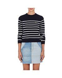 Maison Labiche - Blue la Vie Striped Wool Sweater - Lyst