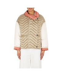 Isabel Marant   Natural Hector Quilted Silk Jacket   Lyst