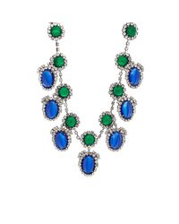 Kenneth Jay Lane - Blue Drop Necklace - Lyst