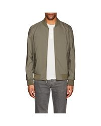 Barneys New York - Green Tech Bomber Jacket for Men - Lyst