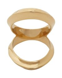Maiyet | Brown Double Open Arch Ring | Lyst