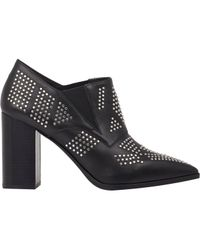 See By Chloé | Black Studded Ankle Boots | Lyst