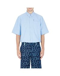 Givenchy - Blue Men's Chambray Columbian Shirt for Men - Lyst