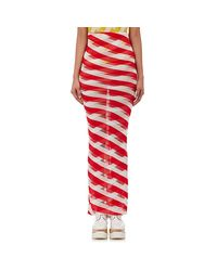 Stella McCartney - Red Women's Fitted Skirt - Lyst