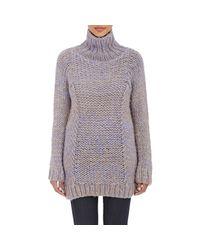 Zero + Maria Cornejo | Blue Mélange Arah Sweater | Lyst