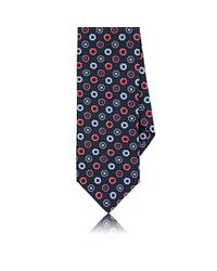Dolcepunta | Blue Floral Silk Necktie for Men | Lyst